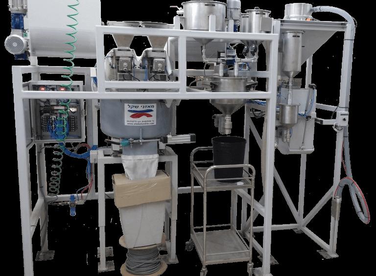 מערכת למילוי ומינון נוזלים ודטרגנטים